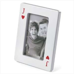 Valentines Day Jack Of Hearts Photo Frame