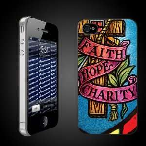Christian/Religious Themed Faith Hope Charity   CLEAR