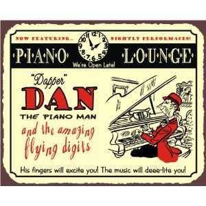 Dapper Dan Piano Bar Open Late Vintage Metal Piano Lounge