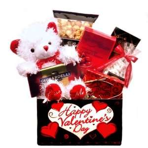 Happy Valentines Day Gift Box  Grocery & Gourmet Food