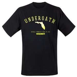 Loud Distribution   Underoath   Florida T Shirt noir (XL