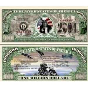 Of War   Thanks A Million Dollar Bill Case Pack 100 Toys & Games