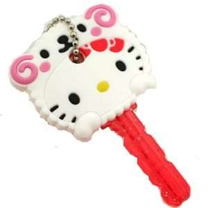 Hello Kitty Animal Key Cap   Hello Kitty As White Sheep Toys & Games