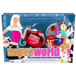 : Designers World Interactive Fashion TV Plug in Game: Toys & Games