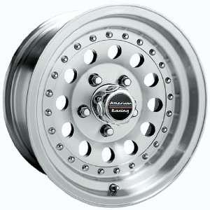 14x7 American Racing Outlaw II (Machined w/ Clear Coat) Wheels/Rims