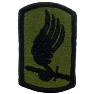 U.S. Army 173rd Airborne Patch Green 3 Patio, Lawn