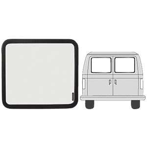 CRL Fixed Window   Rear Doors 1971 1996 Chevy/GMC Vans 22 5/8 x 17 7