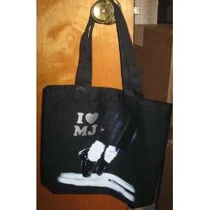 Michael Jackson I LOVE MJ Tote Bag