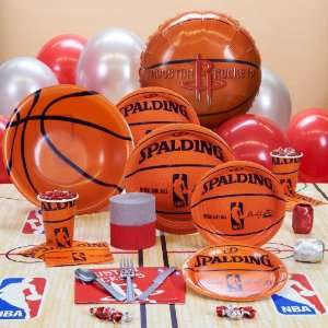 Houston Rockets NBA Basketball Deluxe Party Pack for 18