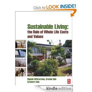 Sustainable Living: the Role of Whole Life Costs and Values: Nalanie
