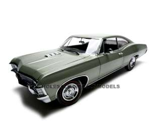 1967 CHEVROLET IMPALA SS 427 GREEN 1:18 ERTL AUTHENTICS