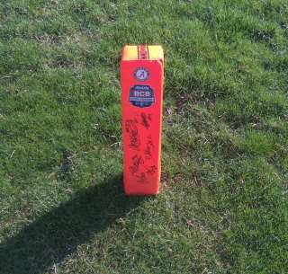 TIDE TEAM Signed Autographed BCS Football Pylon COA PROOF