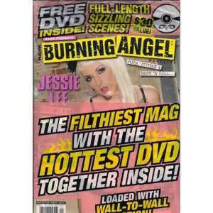 Hawk Presens Burning Angel Magazine #25 Hawk Magazine Books