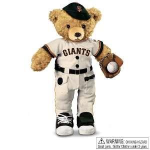 The Giants Coaching Teddy Bear by Ashton Drake Toys & Games