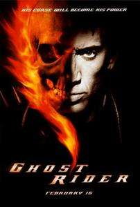 Ghost Rider 27 x 40 Movie Poster, Nicolas Cage, A