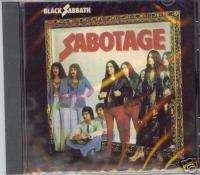 BLACK SABBATH Sabotage SEALED ROCK CD