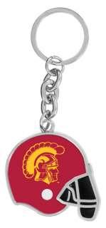 USC Trojans Football Key Chain Keychain Ring Fob Holder