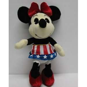 Disney 10 4th of July Minnie Mouse Plush Doll Toys & Games
