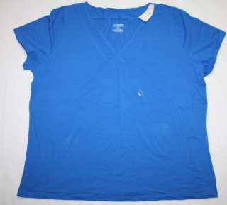 WOMENS blue t shirt top  LANE BRYANT  SIZE 22/24 nwt