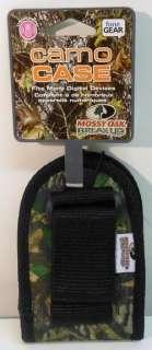 FoneGear Camo Case Universal Flip Phone Case Swivel Belt Clip Mossy
