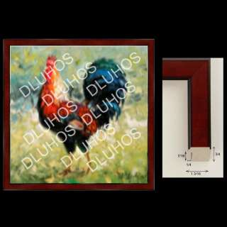 CUSTOM ART WOOD FRAME contemporary high end quality 085