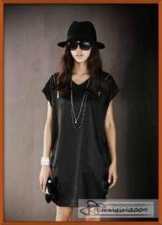 New Bat Sleeves Special Zipper High Quality Retro Belt Faux Silk Dress