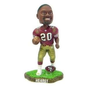 Hearst San Francisco 49ers Game Worn Bobble Head