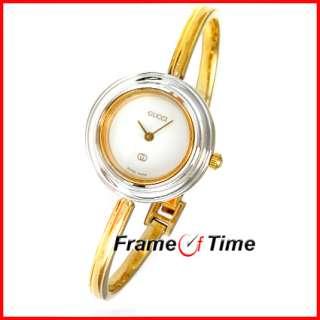 Ladies Gold Bangle Bracelet Bezel Silver/Gold/Black 1100 Watch |