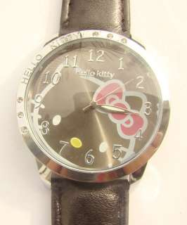 Hello Kitty Quartz Watch Wristwatch 5 Color Ladies Girls Children