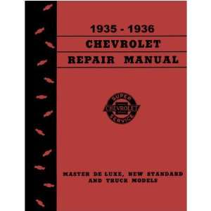 1935 1936 CHEVROLET CAR TRUCK Service Repair Manual