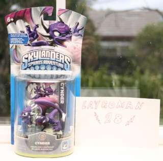 Up for BUY IT NOW is a Skylander Spyros Adventure Cynder figure that