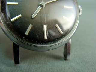 VINTAGE RUSSIAN SOVIET ZARIA 17 JEWELS MEN CHROMED MECHANICAL