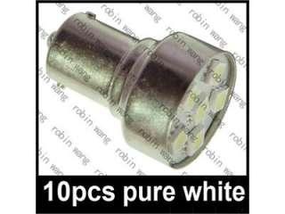 1156 BA15S White 6 5050 SMD LED Turn Indicator Car Light Bulbs 12V DC
