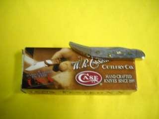 Case XX NEW 13012 Gray Jigged Bone Tiny Toothpick Knife