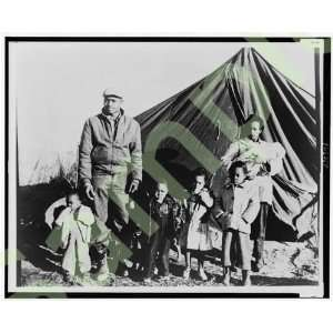 1960 Migrant worker Tent City Haywood County,Tennessee