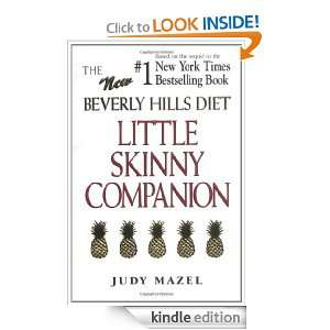 The New Beverly Hills Diet Little Skinny Companion: Judy Mazel: