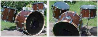 Custom Tama Drum Set Exotic Cordia Wood Gorgeous and Classy Drum Set