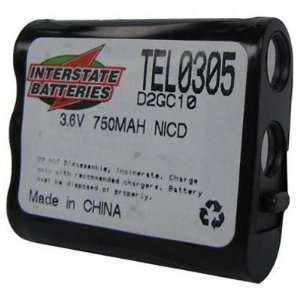 Interstate ALL Battery TEL0305 Cordless Telephone Battery