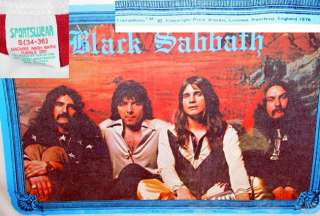 RARE Ozzy Osbourne HEAVY METAL Black Sabbath nos VTG 70s Concert