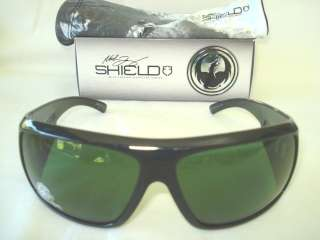 NEW DRAGON SHIELD JET GREEN POLARIZED 720 1979 SUNGLASS