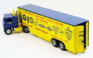 Diecast Semi Tractor Trailer Truck Antique Auto Show AACA Promo 1984