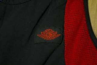 VINTAGE 1985 ORIGINAL OG Nike Air Jordan I BLACK RED 1 WINGS SHIRT