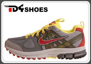 Nike Wmns Air Pegasus 28 Trail W Grey Red Yellow Flywire Running Shoes
