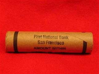 One First national bank of san francisco roll
