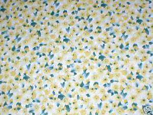 SPRINGS~QUILTERS O N L Y~YELLOW PRIMROSE~COTTON FABRIC