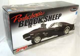 GMP Black Sheep Pork Chop 1969 Ford Mustang Gasser Hot Rod 427