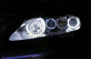 MAZDA 6 HEADLIGHT CCFL HALO RINGS ANGEL EYE KIT WHITE