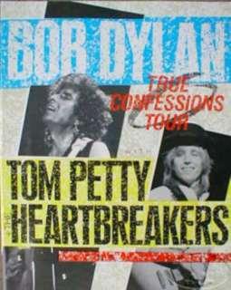 BOB DYLAN TOM PETTY 1986 Tour Concert Program Book