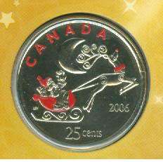 06 Christmas Holiday Coin Gift Set Royal Canadian Mint