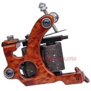 Tattoo Machine handmade Wood Grain DESIGN Liner Gun